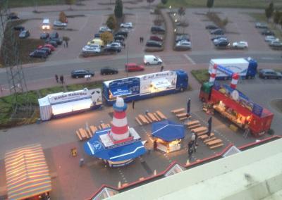 Hamburger Fischmarkt auf Tour obere Ansicht
