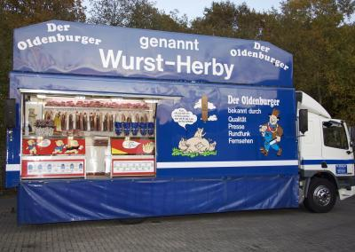 Wurst Herby für Traditionsmarkt