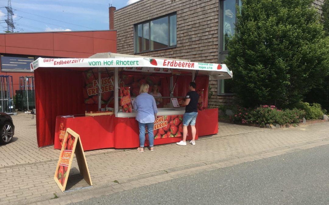 Unser Erdbeerverkauf Am Wulfter Turm 15, 49082 Osnabrück